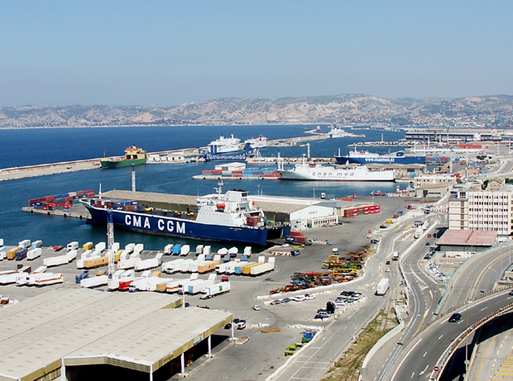 Le port de marseille grand port de croisi res - Port de croisiere marseille ...