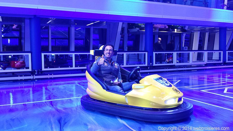 Auto tamponneuses à bord du Quantum of the Seas