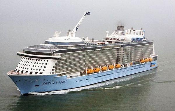 Navire de croisière Quantum of the Seas en mer