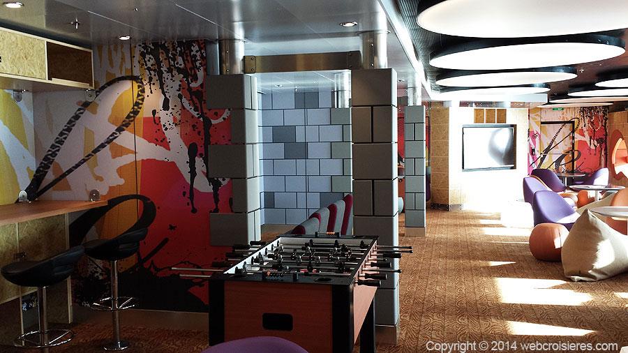 Salle de jeux du Quantum of the Seas