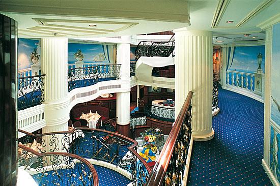 Intérieur du voilier Royal Clipper