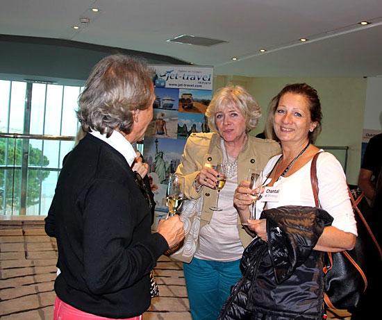 A droite : votre conseillère Webcroisieres.com Chantal