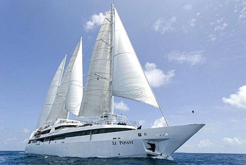 Le navire du Ponant