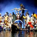 La troupe du Cirque du Soleil