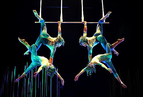 Acrobates du Cirque du Soleil