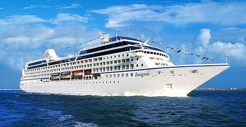 Le navire de croisière Oceania Insignia