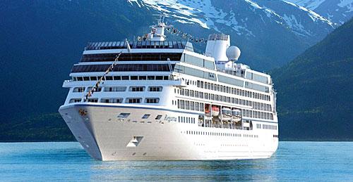 Le navire de croisière Oceania Regatta