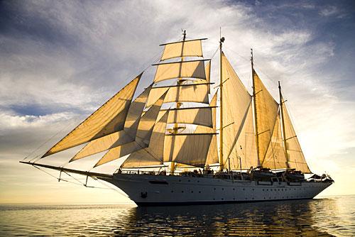 Le voilier de luxe Star Clipper