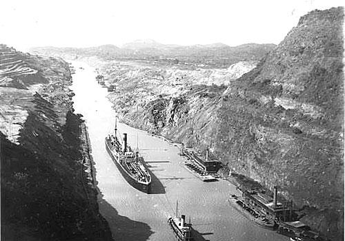 Le Canal de Panama en 1914 Photo 1