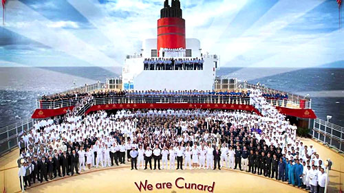 L'Equipe de Cunard