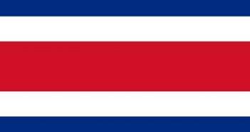 Drapeau du Costa Rica