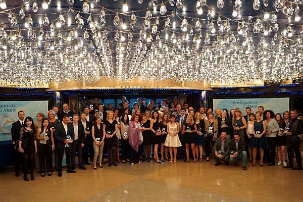 Photo des différents nommés présents lors de la cérémonie