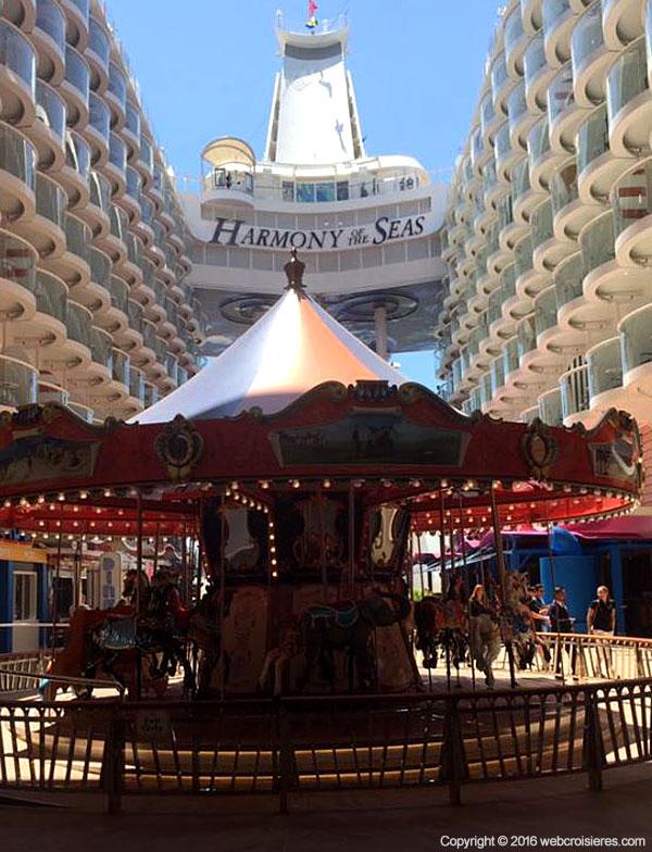 Carrousel et manège de l'Harmony of the Seas