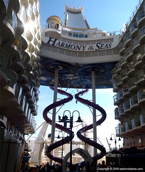 Toboggan ultimate abyss Harmony of the Seas