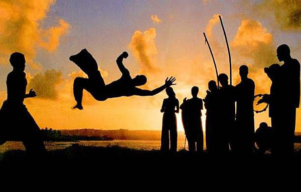 Une démonstration de Capoeira