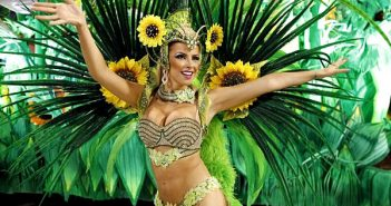 Une danseuse de Samba