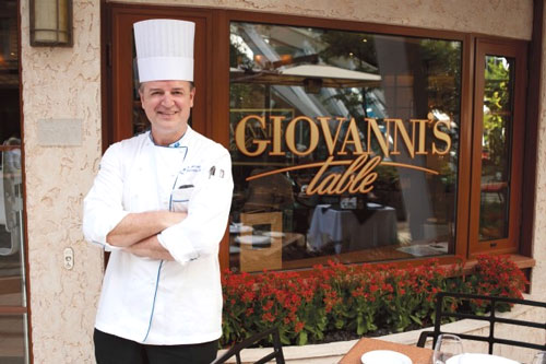 Le restaurant Giovanni's Table