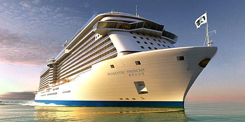 Majestic Princess : nouveau navire de Princess Cruises |