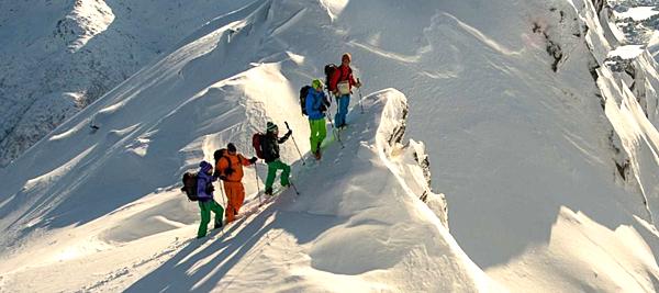 Ski avec Hurtigruten