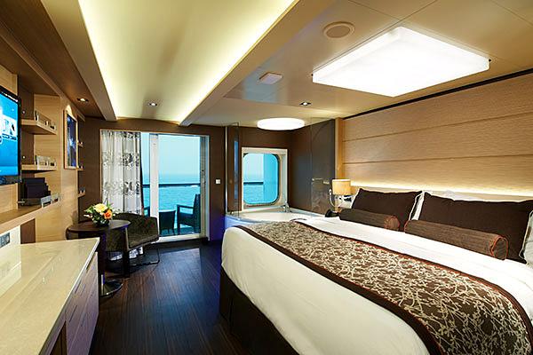 Exemple de Suite avec balcon