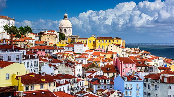 Point de vue sur Lisbonne