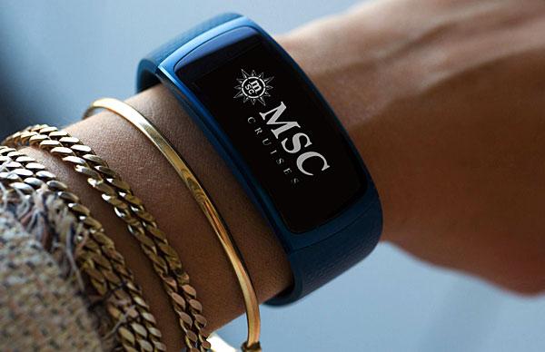 Bracelet connecté MSC FOR ME
