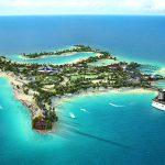 Illustration de la futur île MSC CROISIERES Ocean Cay aux Bahamas