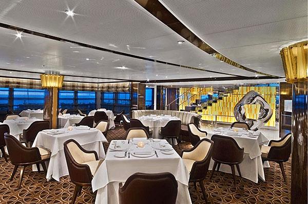 Restaurant du Seabourn Ovation
