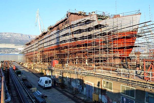 Le Flying Clipper en construction