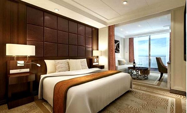 Exemple de Suite de Luxe (Regent Seven Seas Explorer)
