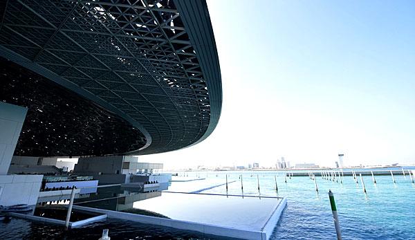 Le musée du Louvre à Abu Dhabi