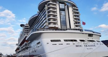 La poupe du MSC Seaside