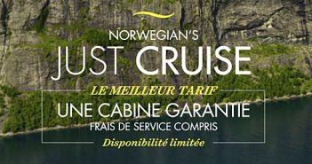 Tarif Just Cruise de Norwegian Cruise Line