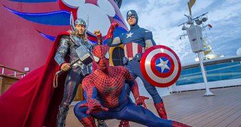 Spiderman et les Avengers de Marvel sont également au rendez-vous