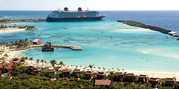 L'île de Castaway Cay