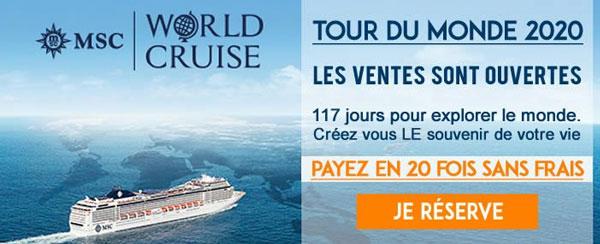 Tour du Monde MSC 2020