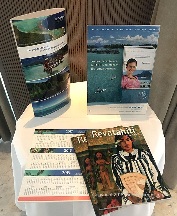Brochures sur la Polynésie française et Tahiti