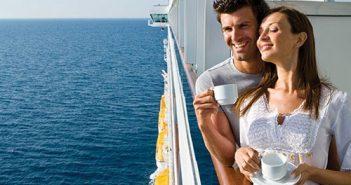 Couple sur un navire Costa Croisières