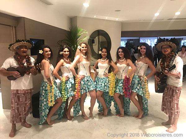Equipe d'accueil tahitienne