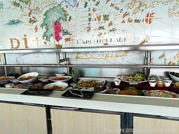 Le buffet du Club Med 2