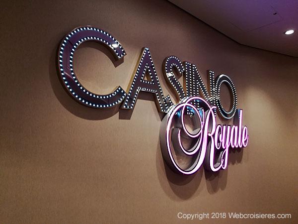 Le Casino Royale du Symphony of the Seas