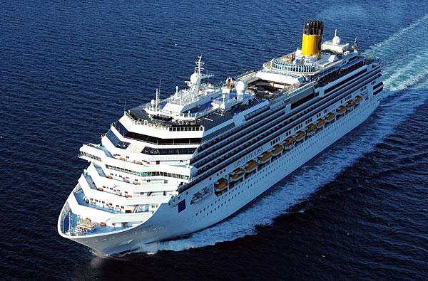 Le navire Costa Favolosa