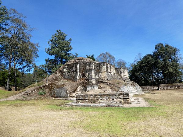 Ancien édifice Maya
