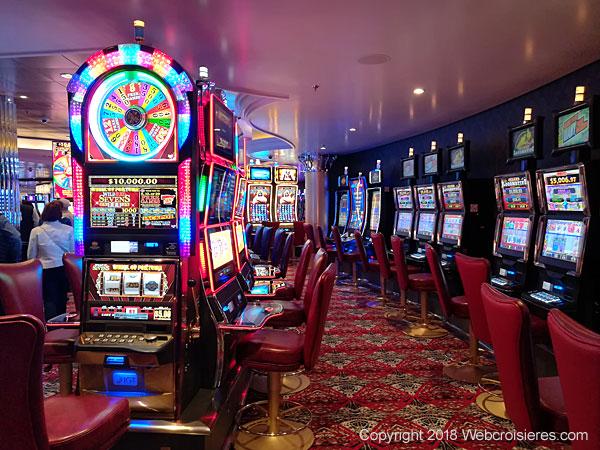 Les machines à sous du casino