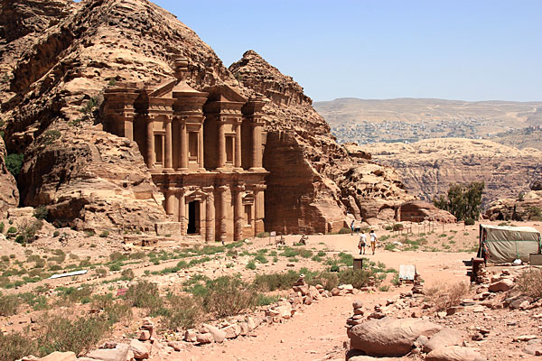 Photo de Petra en Jordanie