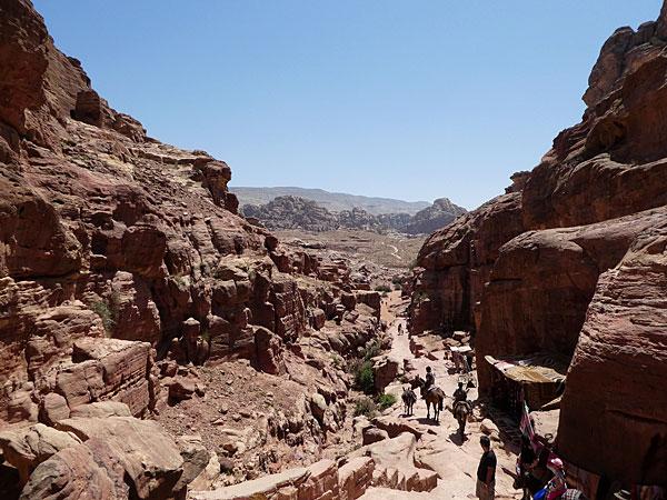 En route vers Petra