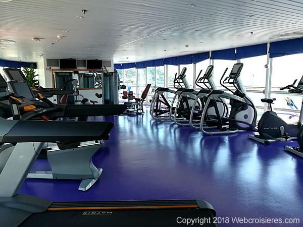 Salle de sport du Club Med 2