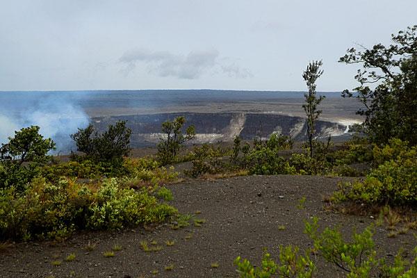 Volcan Kilauea en activité (Hawaï)