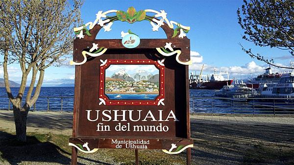 Ushuaïa : ville du bout du monde !