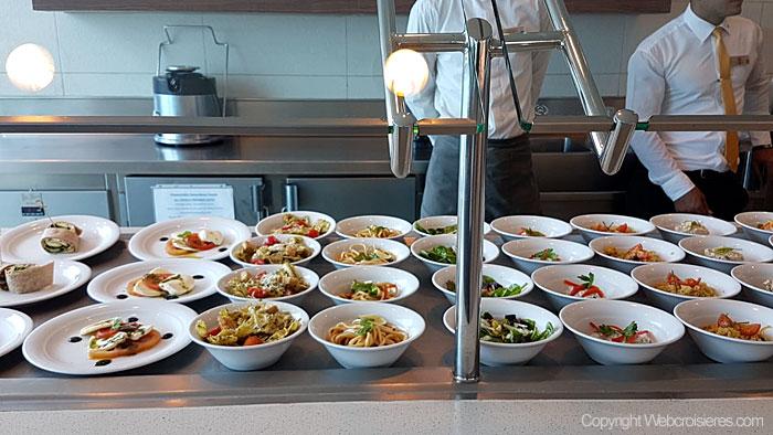 Un buffet varié et très appétissant !